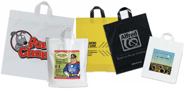 Plastic Bags - Retail Shopping Bags | Elegant Pak Inc.